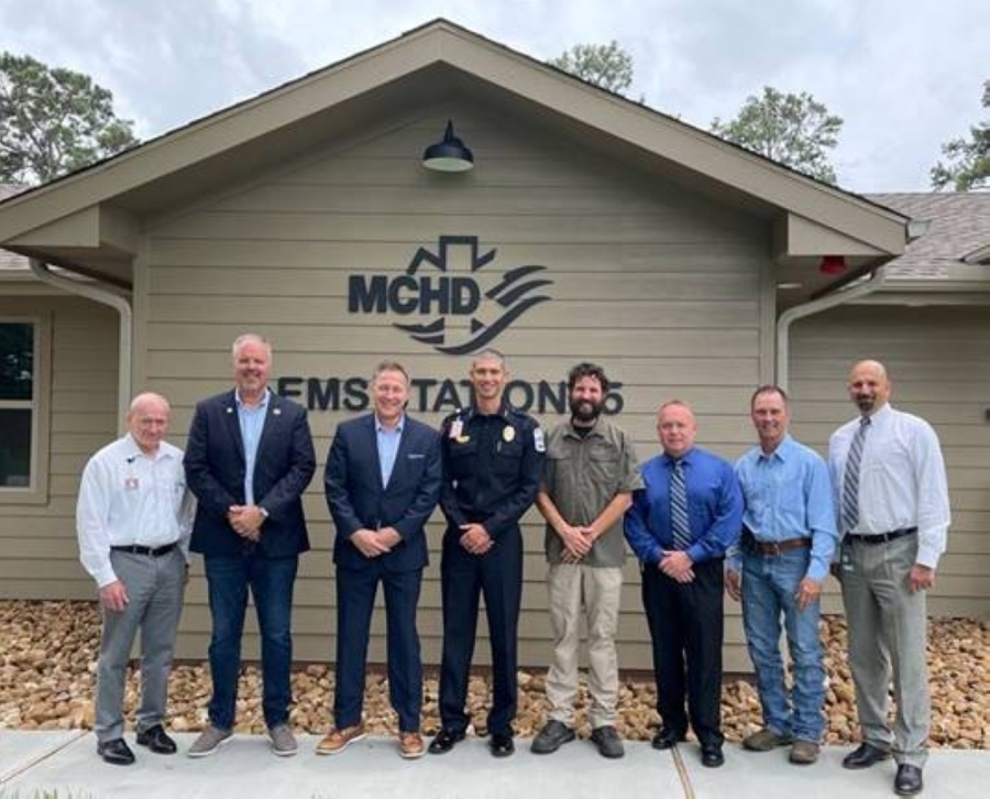 Montgomery County Hospital District hosted councilmembers from the city of Conroe and management staff to view the new space. (Courtesy Montgomery County Hospital District)