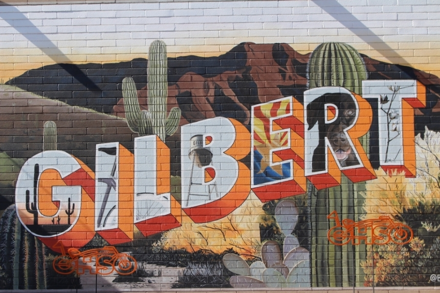 Gilbert mural
