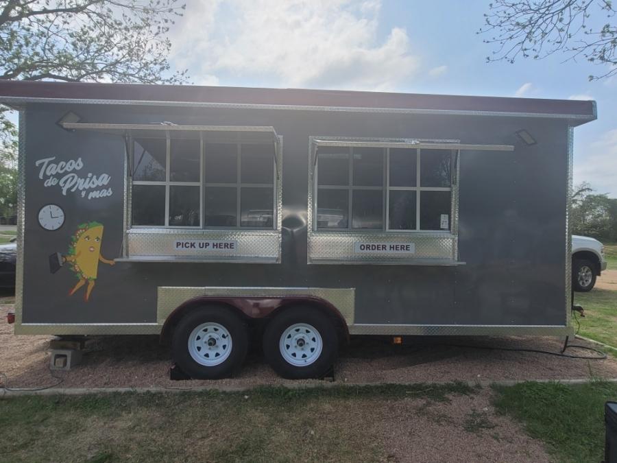 Taco trailer in Leander