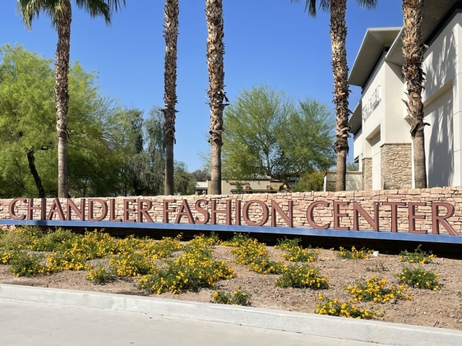 Chandler Fashion Center is in the city of Chandler. (Alexa D'Angelo/Community Impact Newspaper)