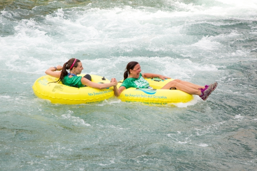 Dos Rios Splash & Dash 5K Run (Courtesy New Braunfels Parks and Recreation Department)