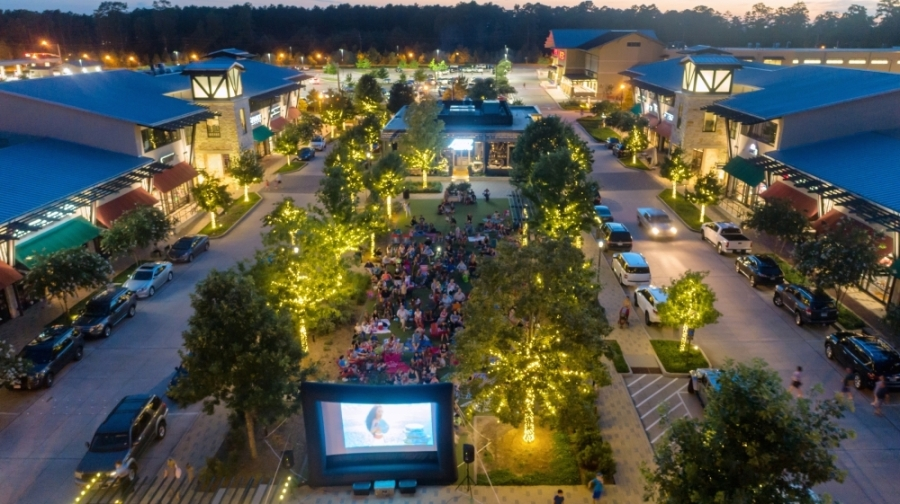 The Howard Hughes Corp. is hosting free family movie screenings each month this summer at Creekside Park Village Green. (Courtesy Howard Hughes Corp.)