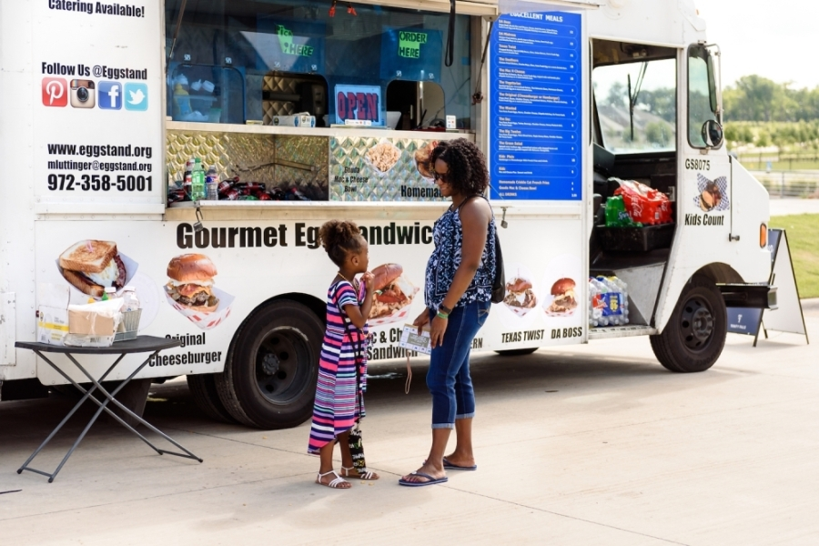 The Round Rock Planning and Zoning Commission recommended approval of amendments to the city's ordinance that would allow mobile food establishments to remain in permitted food truck parks overnight. (Courtesy Trinity Falls)