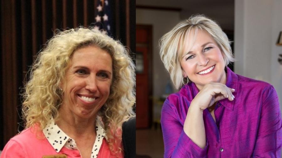Headshots of Mindy McClure and Shannon Braun