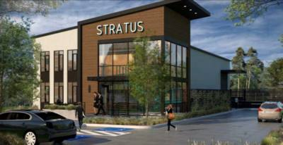 The new space, developed by Sailfish Investments, includes 5,427 square feet of office, meeting, warehouse, and research and development space. (Rendering courtesy Stratus Medical)