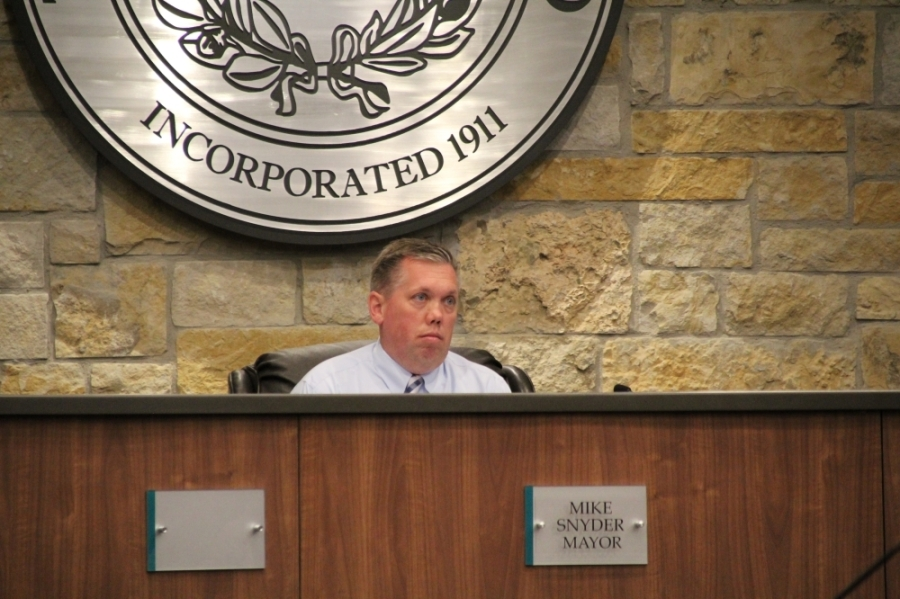In December 2020, former City Manager Odis Jones sued Snyder, Mayor Pro Tem Tanner Rose and City Manager Warren Hutmacher for racial discrimination following his resignation. (Megan Cardona/Community Impact Newspaper)