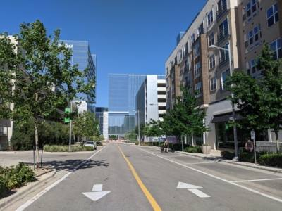 Vacancy rates for office spaces continue to climb across Northwest Austin, including space at developments like The Domain. (Iain Oldman/Community Impact Newspaper)