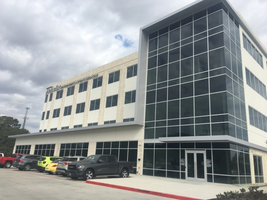 Castle Biosciences is located at 505 S. Friendswood Drive, Friendswood. (Haley Morrison/Community Impact Newspaper)