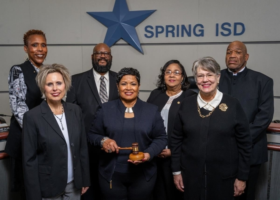 The Spring ISD board of trustees comprises (from top left to bottom right): Kelly P. Hodges, Winford Adams Jr., Justine Durant, Donald Davis, Jana Gonzales, Rhonda Newhouse and Deborah Jensen. (Courtesy of Spring ISD)