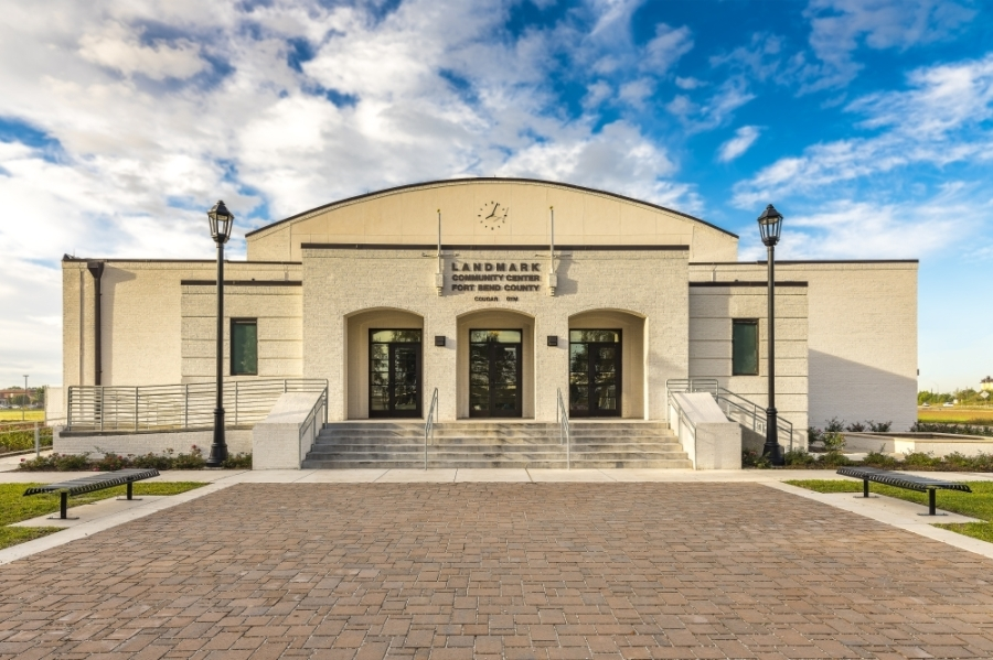Fort Bend County officials are hosting a ribbon-cutting ceremony at Landmark Community Center June 5. (Courtesy Teal Construction Company)