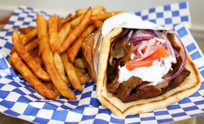 Pappa Gyros will open its new location will be at the northwest corner of Mason Road and Franz Road. (Community Impact Staff)