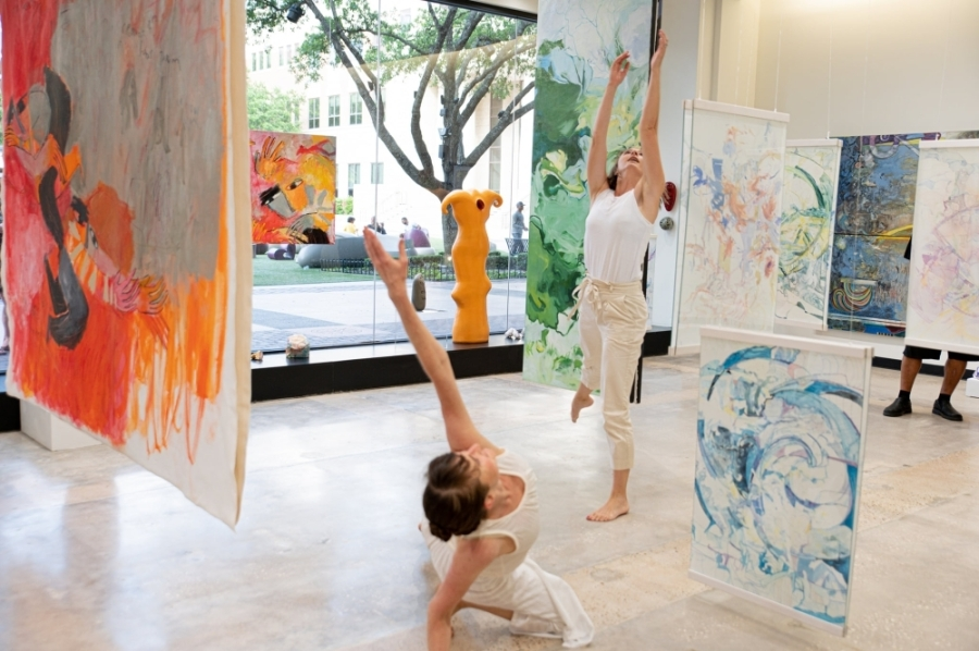Art Museum TX opened in Sugar Land Town Square on May 27. (Courtesy Art Museum TX)