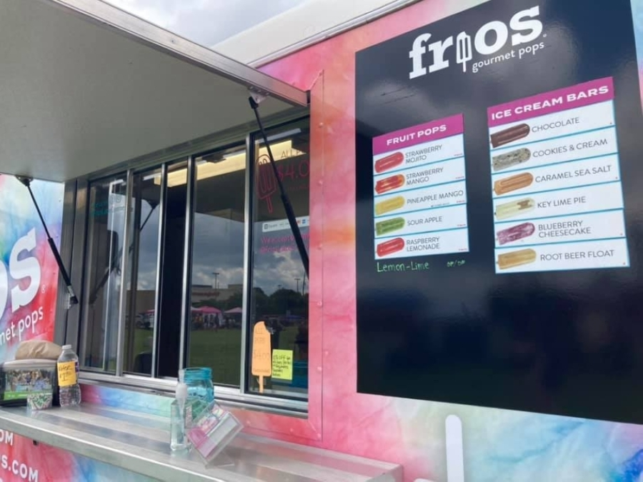 Frios in Montgomery expanded its hours June 4. (Courtesy Frios Gourmet Pops)