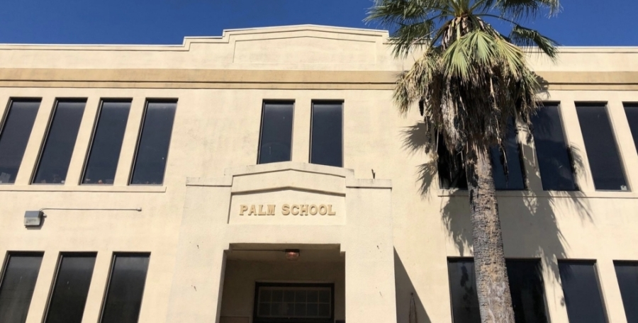The historic Palm School building is one of several landmarks and cultural sites located within Austin's central Palm District. (Courtesy city of Austin)