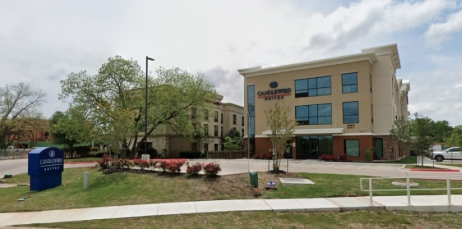 Candlewood Suites is located at 10811 Pecan Park Blvd., Austin. (Chris Neely/Community Impact Newspaper)