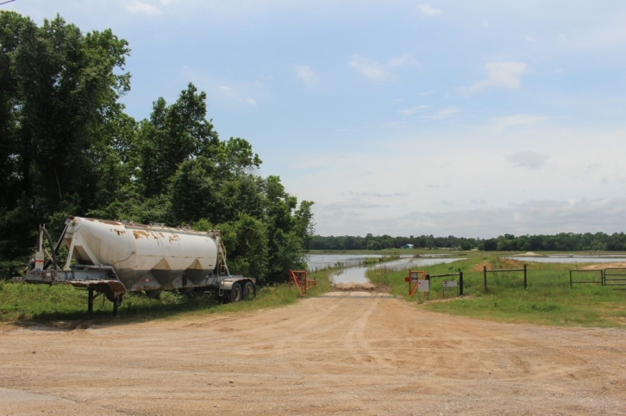 The proposed plant is located at 1301 Superior Road, Magnolia. (Eva Vigh/Community Impact Newspaper)