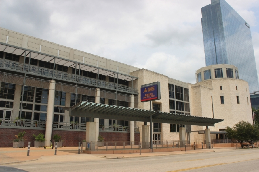 Austin officials have been pursuing a redesign of the decades-old downtown facility for years. (Ben Thompson/Community Impact Newspaper)