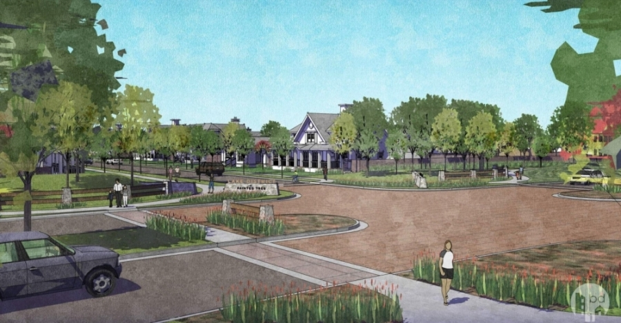 McKinney City Council will consider a request to voluntarily annex about 613 acres into the city following initial approval from the McKinney Planning & Zoning Commission at its June 8 meeting. (Rendering courtesy city of McKinney)