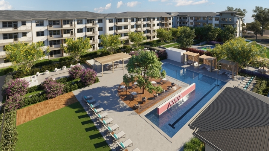 Amberlin Georgetown will feature resort-style amenities. (Courtesy Compass Communications)
