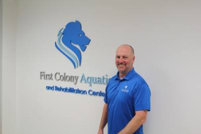 With a Sugar Land location, First Colony Aquatic and Rehabilitation Center offers primarily orthopedic, outpatient rehabilitation treatment. (Laura Aebi/Community Impact Newspaper)