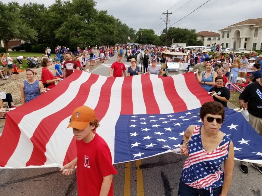 Lakeway's annual July Fourth celebration kicks off July 2. A parade will take place at the Live Oak Country Club. (Courtesy City of Lakeway)