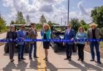 Several Sugar Land City Council members participated in a ribbon-cutting ceremony for the road and trail on May 27. (Courtesy city of Sugar Land)