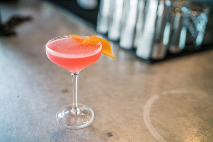 The new location of FM Kitchen & Bar, slated to open later in June, will offer a selection of signature and classic cocktails, including the cosmopolitan. (Courtesy FM Kitchen & Bar)
