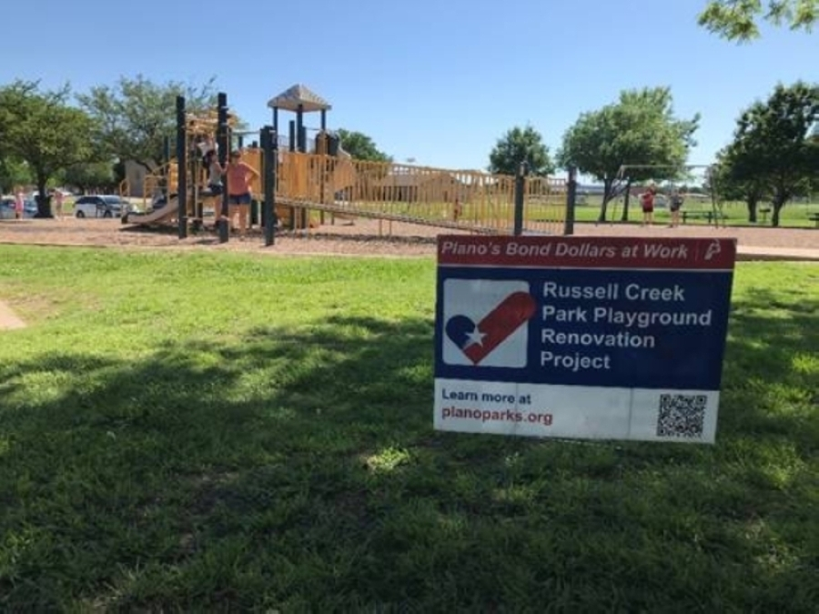 Renovations recently began at Russell Creek Park, which opened in 1995 and is one of Plano's many parks. (Courtesy city of Plano)