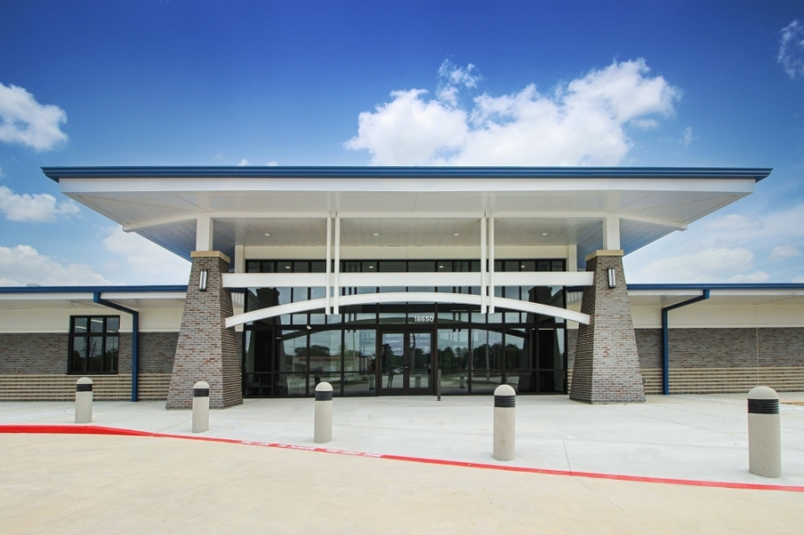 The Steve Radack Community Center is located on Clay Road. (Courtesy Lockwood, Andrews & Newnam)