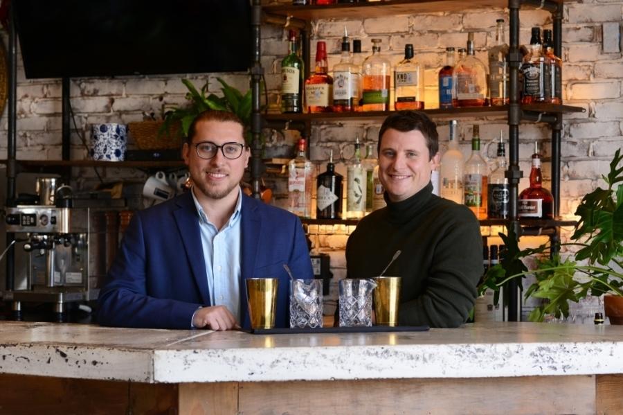 Brothers Sam (left) and Michael (right) Billelo own Fiori Italian Restaurant and Bar in Flower Mound. (Courtesy Samuel Billelo)
