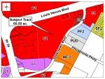 The property being approved for rezoning from C-1 to PUD at the intersection of Greenlawn and Louis Henna Boulevards will become home to The District if approved. (Courtesy City of Round Rock)