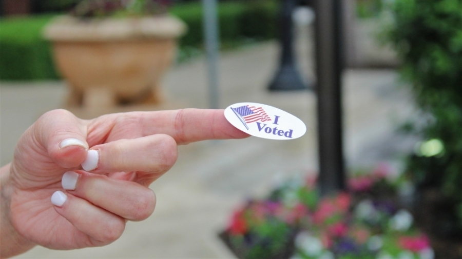 Postcards are being distributed within Tarrant County and Fort Worth asking voters to verify their May 1 vote. (Sandra Sadek/Community Impact Newspaper)