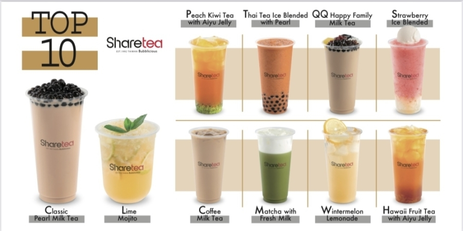 ShareTea opened in Metropark Square in early June. (Courtesy ShareTea)