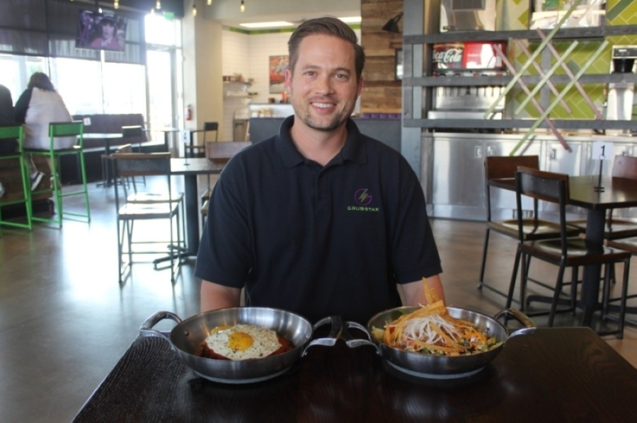 Colton Grubb announced Grubstak would close its doors June 13. (Alexa D'Angelo/Community Impact Newspaper)