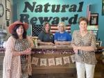 Owners Mary Graham (front left) and Debbie Jacob (front right) said their employees Angila Davis (back left) and Linda Mealer (back right) are like family.