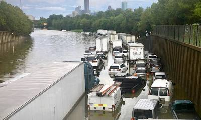 According to county officials, 40% of the $125 billion in damage caused by Hurricane Harvey took place within Harris County. (Shawn Arrajj/Community Impact Newspaper)