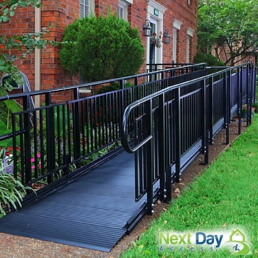 Owned by Brian Week, the business is a Certified Aging-In-Place Specialist that offers wheelchair ramps, stair lifts, grab bars, bathroom safety products and vehicle lifts, among other residential and commercial accessibility and mobility products. (Courtesy Next Day Access North Houston)