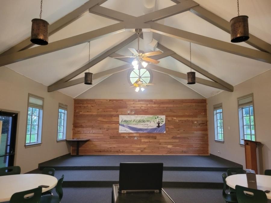 A photo of inside a main room of Arbor Academy