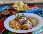 The restaurant offers a full Tex-Mex style menu and is known for its Bob Armstrong dip and chile relleno. (Courtesy Matt's Rancho Martinez)