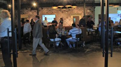 Persimmons Bar & Grill will be managed by Coury Hospitality, which also runs Hotel Vin and Harvest Hall. (Sandra Sadek/Community Impact Newspaper)