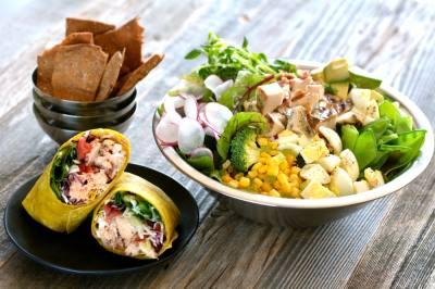 Salata allows customers to create their own custom salads and wraps. (Courtesy Salata)