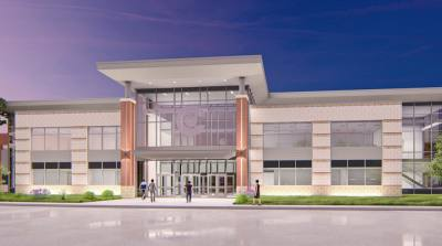 The teacher training center was named the Walter P. Jett Training Center and will open spring 2022. (Courtesy Conroe ISD)