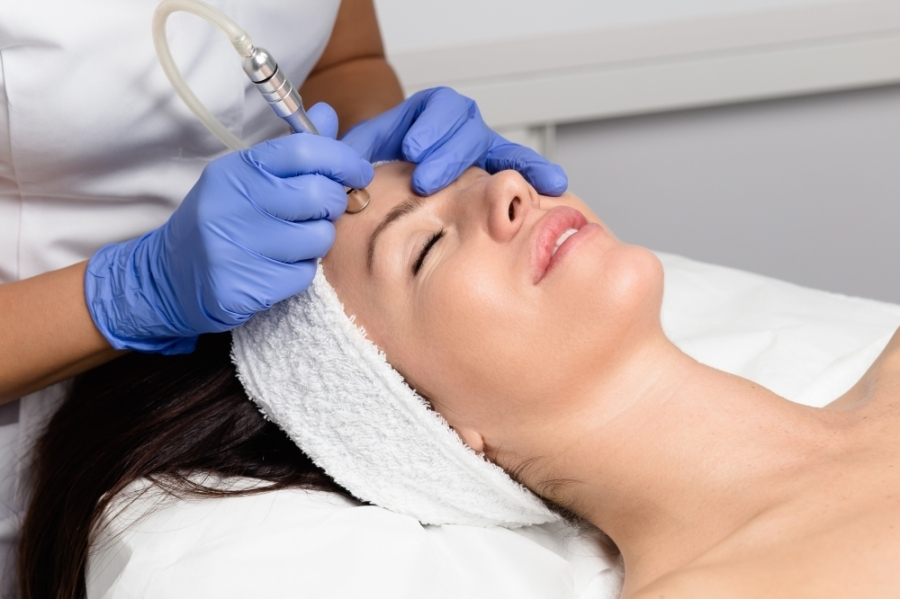 The spa features anti-aging and skin treatments, such as microdermabrasion. (Courtesy Adobe Stock)