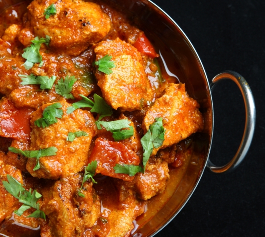 The restaurant serves a variety of Indian appetizers, entrees and biryani dishes. (Courtesy Adobe Stock)
