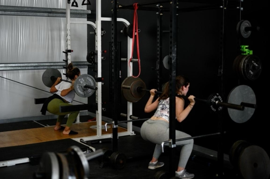 Ghostletics Gym offers month-to-month memberships and day passes, and also offers on-site sports therapy. (Courtesy Ghostletics Gym)