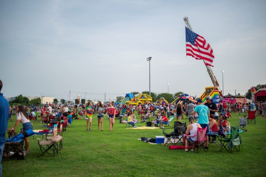 There will be various events across the Houston area celebrating the Fourth of July, including League City's Fireworks Extravaganza. (Courtesy of League City)