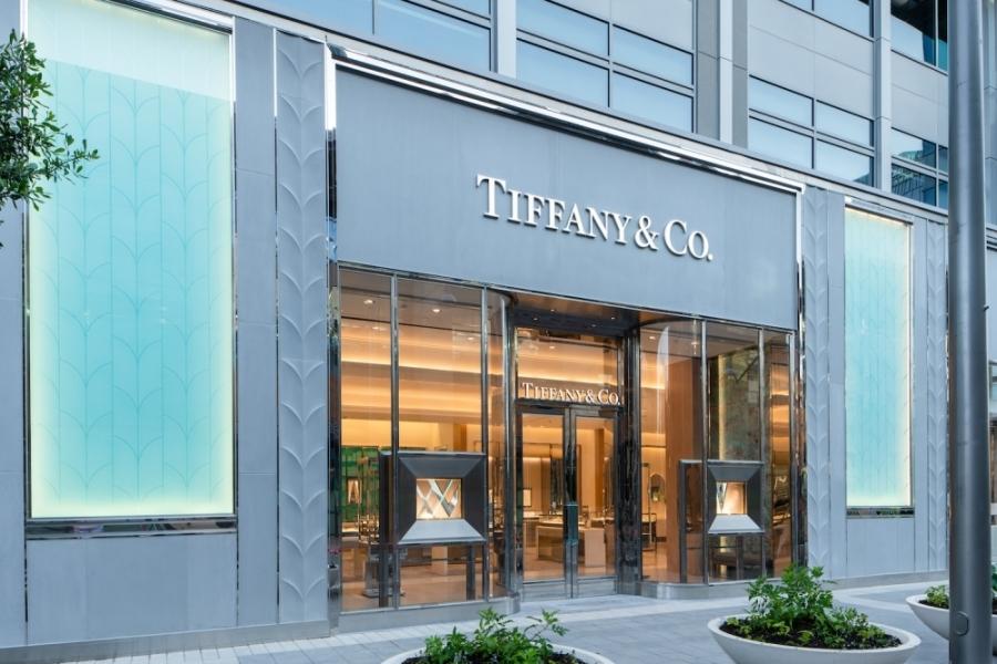 Tiffany & Co. opened at Legacy West on June 17. (Courtesy Tiffany & Co.)