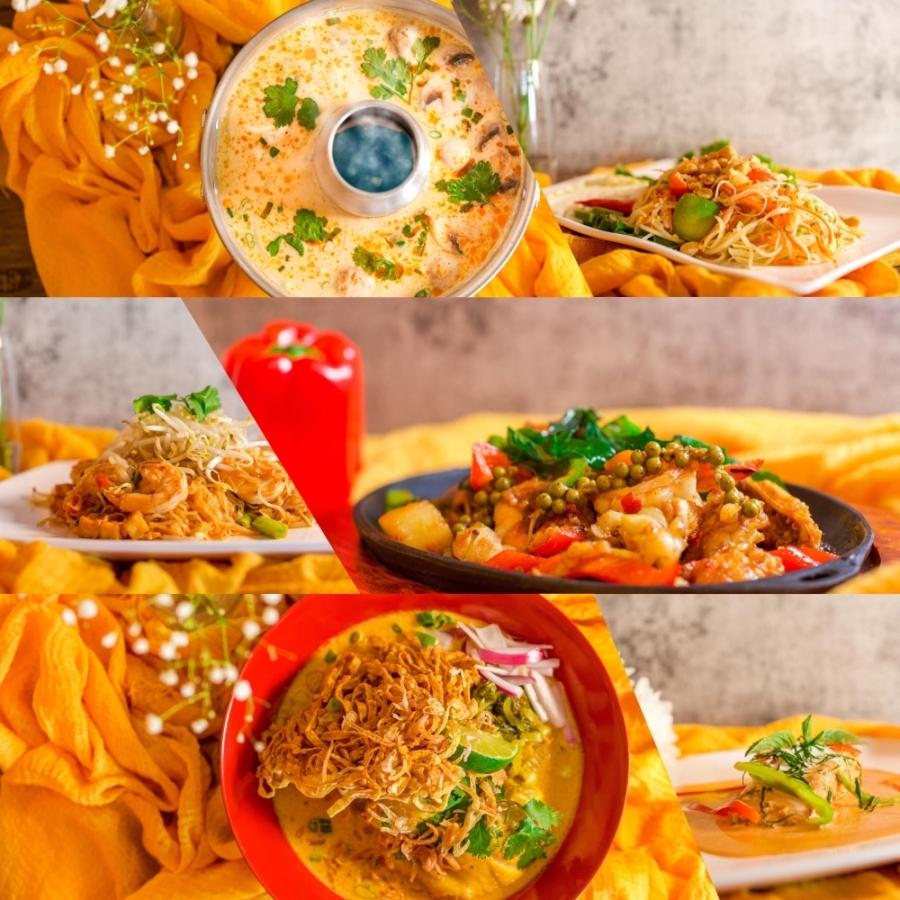 Baan Thai's menu offers a wide variety of popular comfort Thai food. (Courtesy Baan Thai Cuisine)