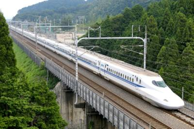 The Texas Central rail connection from Dallas to Houston will feature a bullet train similar to this one. (Courtesy Texas Central Partners/Community Impact Newspaper)