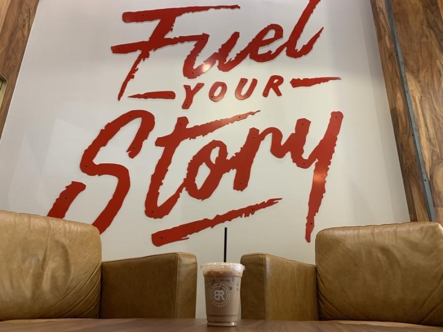 Black Rock Coffee Bar has locations in Austin and Round Rock. (Megan Cardona/Community Impact Newspaper)